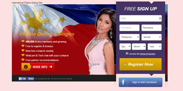 Online dating site for filipino